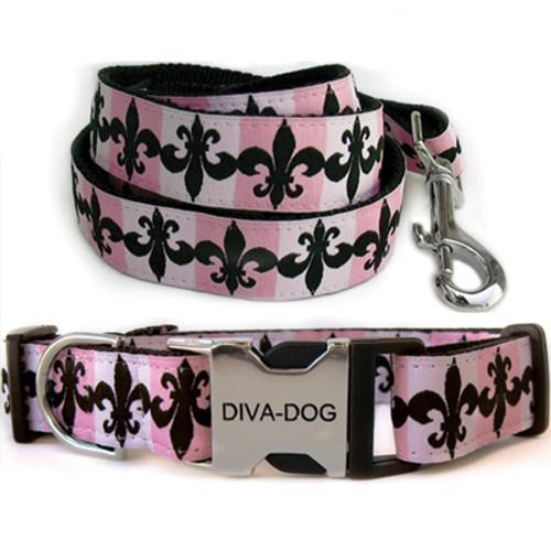 Katrina Clearance Collar and Leash - by Diva-Dog.com