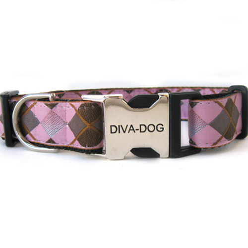 Argyle clearance dog collar
