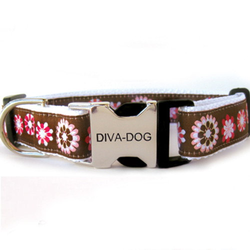 Garden Party Collar - Clearance (Metal/Plastic Buckle)