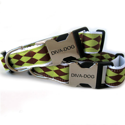 Harlequin green clearance collar