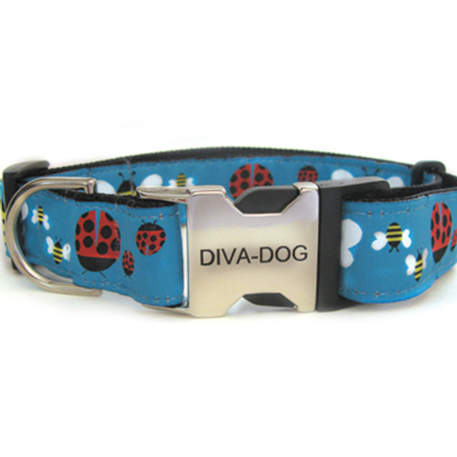 Lady bugs and bumble bees clearance dog collar