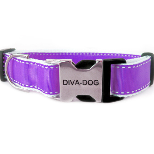 Preppy in Purple clearance collar