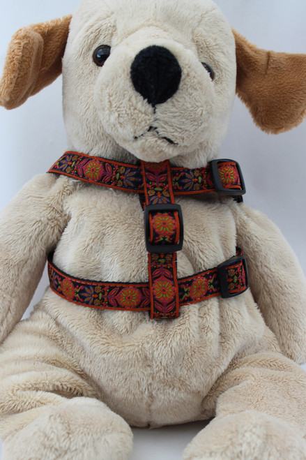 Venice dog Harness - by Diva-Dog.com  - front view