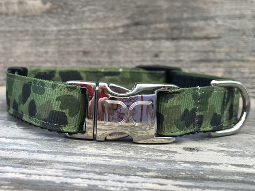 Camo K-9 dog collar - by Diva-Dog.com