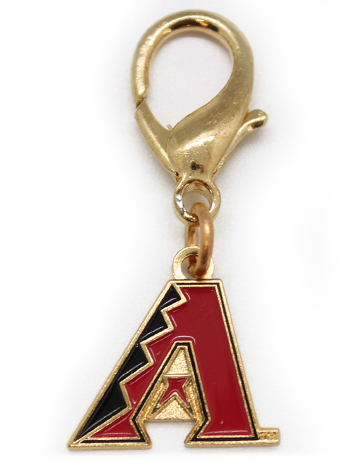Arizona Diamondbacks Logo dog collar charm - by Diva-Dog.com