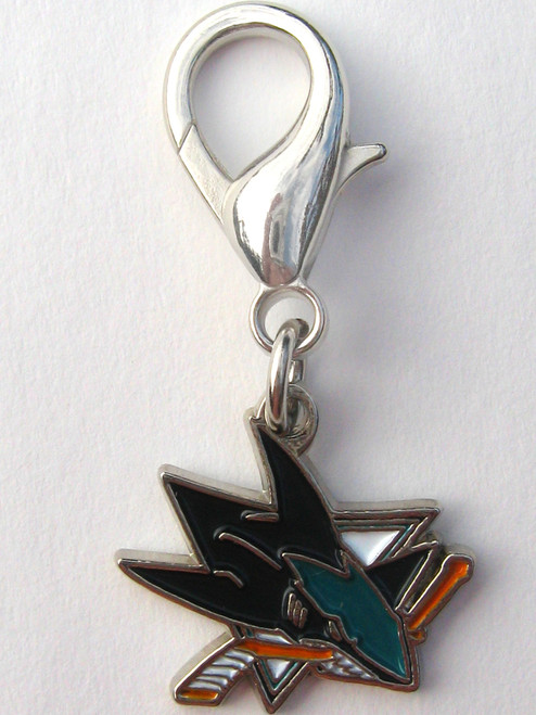 San Jose Sharks Collar Charm - by Diva-Dog.com