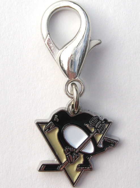 Pittsburgh Penguins Collar Charm - by Diva-Dog.com
