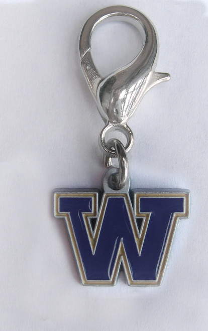 University of Washington Huskies Collar Charm - by Diva-Dog.com