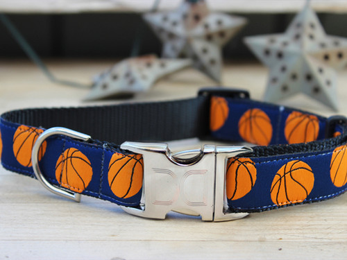 Basketball dog collar - by Diva-Dog.com