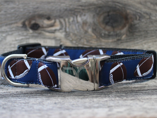 Football dog collar - by Diva-Dog.com