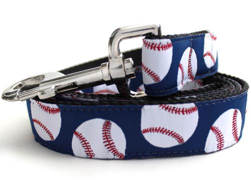 Baseball dog Leash - by Diva-Dog.com
