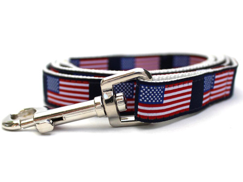 Stars n Stripes Leash - by Diva-Dog.com
