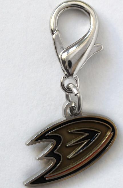 Anaheim Ducks logo collar Charm - by Diva-Dog.com