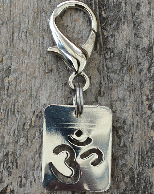 Om Symbol Dog Collar Charm - by Diva-Dog.com