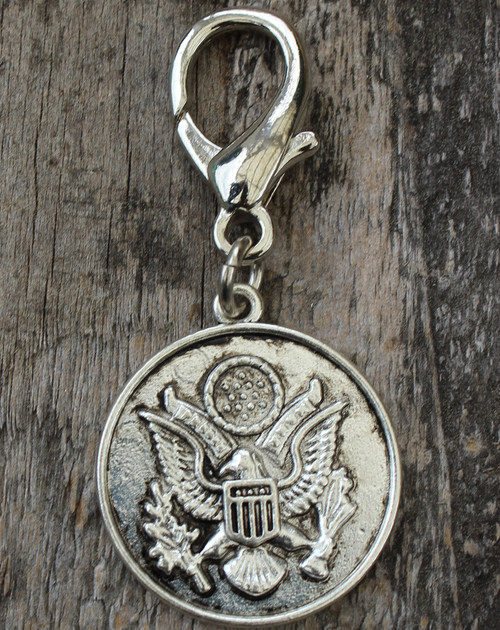 Seal of the United States Dog Collar Charm - by Diva-Dog.com