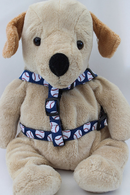 Baseball step in Harness - by Diva-Dog.com  - front view