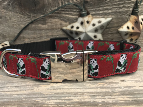 Panda-Monium dog Collar - by Diva-Dog.com