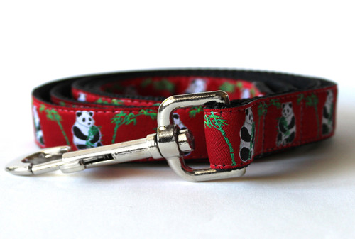 Panda-Monium dog Leash - by Diva-Dog.com