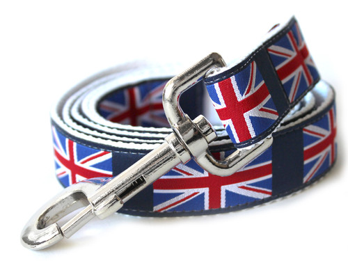 London Calling dog Leash - by Diva-Dog.com