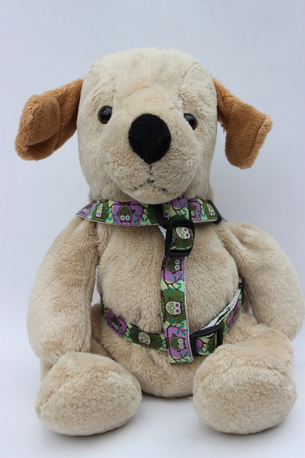 H'Owl Step-In Harness - by Diva-Dog.com  - Front View