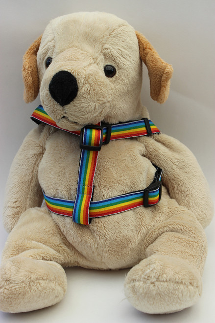 Rainbow Harness - by Diva-Dog.com  - Front View