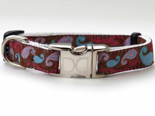 Kensington Brown Collar - by Diva-Dog.coms