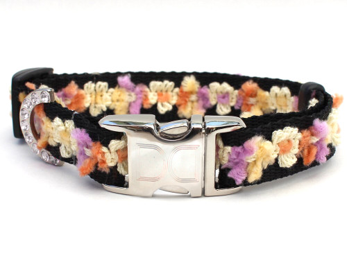 Coco Dog Collar in Maize - by Diva-Dog.com
