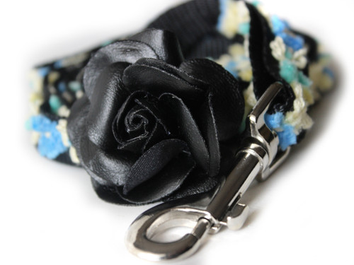 Coco Dog Leash - by Diva-Dog.com shown in Blue