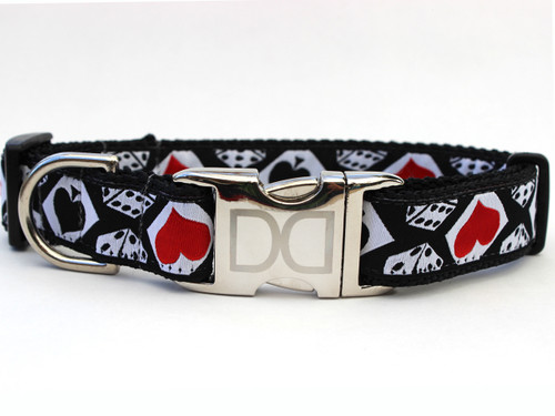 Aces Dog Collar - by Diva-Dog.com