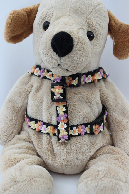 Coco Maize Harness - by Diva-Dog.com  - front view