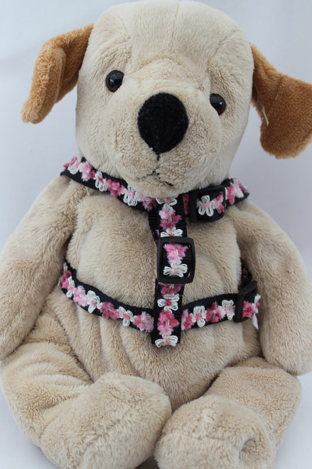 Coco Pink Harness - by Diva-Dog.com  - front view