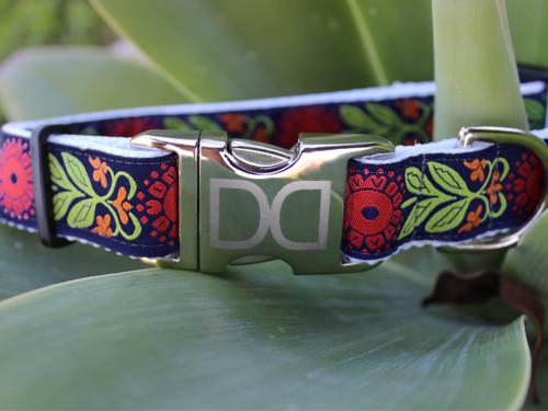Perfect Poppy Dog Collar - by Diva-Dog.com
