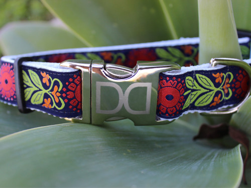 Perfect Poppy Dog Collar - by Diva-Dog.com