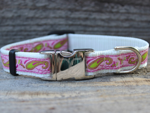 Pastel Boho Dog Collar - by Diva-Dog.com