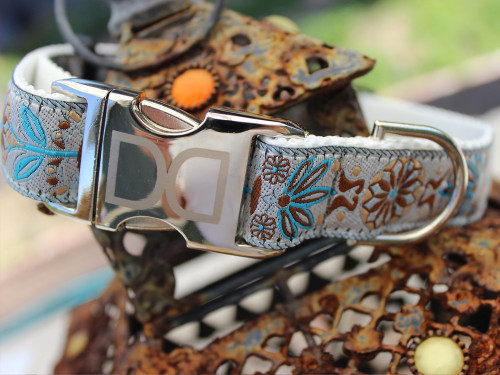 Boho Morocco Dog Collar - by Diva-Dog.com