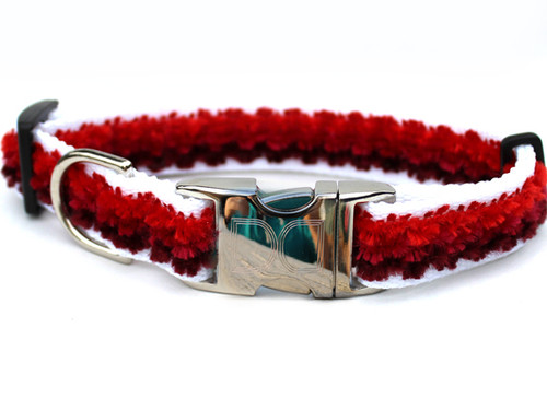 Cabo Collection Sunset Red Dog Collar - by Diva-Dog.com