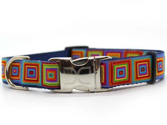 Squares Dog Collar