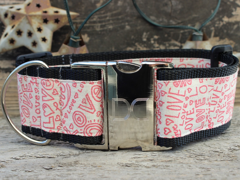 Love Notes Dog Collars