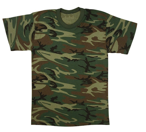 BUSH CAMO KIDS T SHIRT