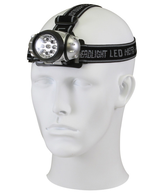 9 BULB LED HEADLAMP