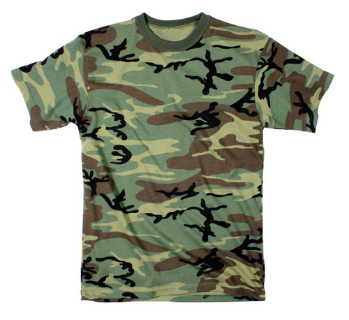 MENS BUSH CAMO T SHIRT