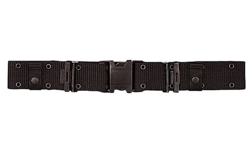 BLACK QUICK RELEASE HEAVY DUTY COMBAT BELT