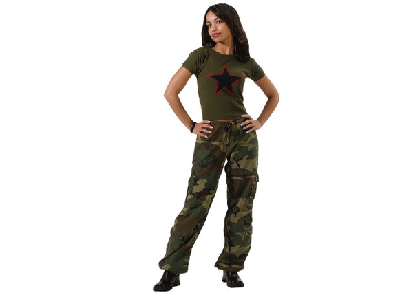 BUSH CAMO VINTAGE PARATROOPER PANTS