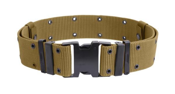 COYOTE BROWN QUICK RELEASE HEAVY DUTY COMBAT BELT