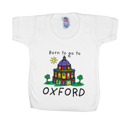 Born to Go to Oxford Baby T-Shirt