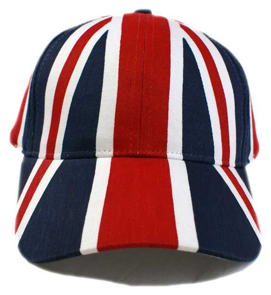 Union Jack Printed Cap