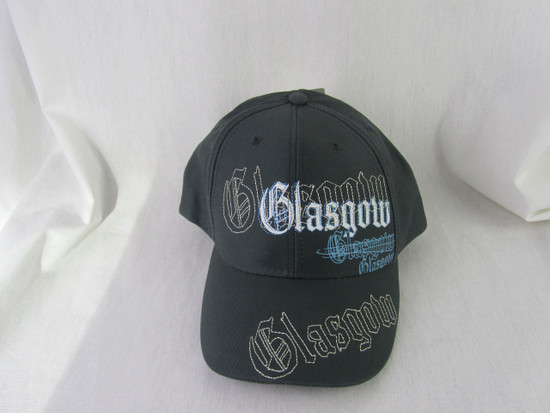Charcoal Cotton Cap Emb./Printed Glasgow