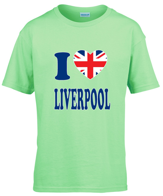 I Love UJ Liverpool T-shirt - Kids