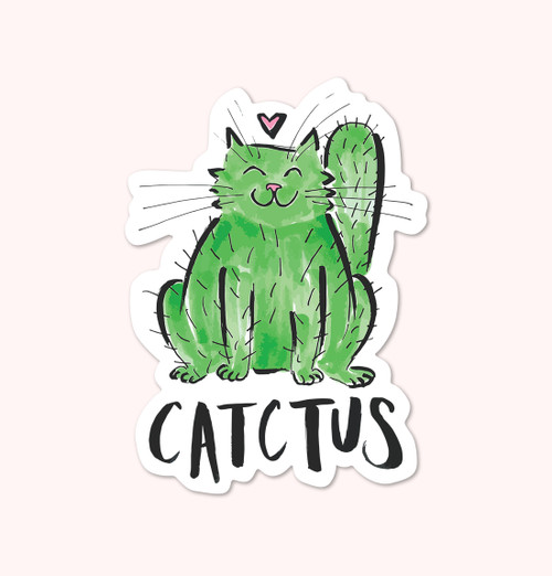 """Catctus"" Sticker"