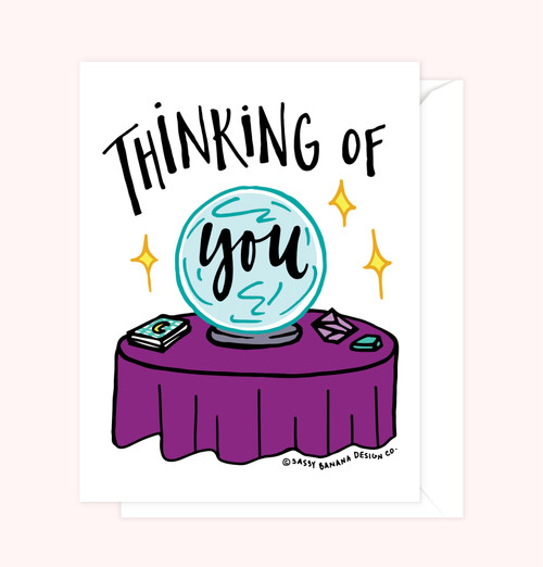 """Thinking of You Greeting Card"""